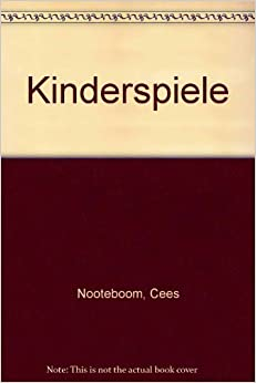 kinderspiele books. Black Bedroom Furniture Sets. Home Design Ideas