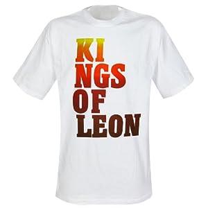 Kings of Leon - T-Shirt Block Logo (in XL)