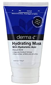 Derma E Natural Bodycare Hyaluronic Hydrating Mask, 4-Ounce
