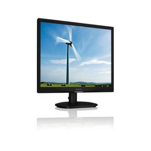Philips 19S4Lsb 19 Tft Led Monitor 5:4 5Ms 1280X1024 250 Nit 1000:1 Vga Black