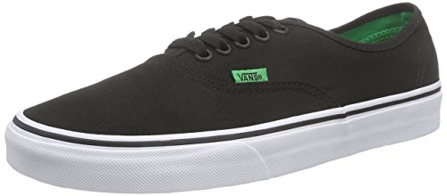 Vans Authentic, Unisex-Erwachsene Sneakers, Schwarz (sport Pop/black/kelly Green), 41 EU thumbnail