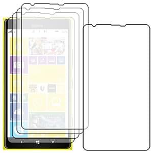 Lot x5 FILM PROTECTEUR ANTI-RAYURE ebestStar - Pour SmartPhone Nokia Lumia 1520 - pack x 5 protection d'écran tactile, LCD, cristal, transparent + chiffonnette (microfibre / chiffon)