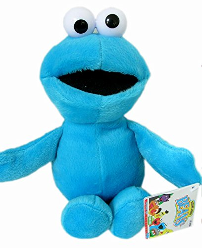 "Fisher Price Cookie Monster 9"" Plush Doll - 1"