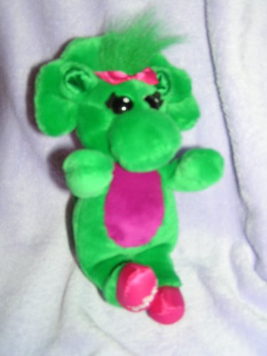 "Singing Abc Baby Bop 11"" Plush Barney Dinosaur Friend front-206373"