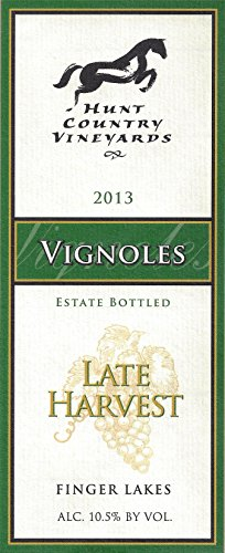 2013 Hunt Country Vineyards Late Harvest Vignoles Finger Lakes Estate Bottled 375Ml