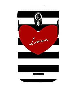 Young Love 3D Hard Polycarbonate Designer Back Case Cover for Micromax Canvas Magnus A117