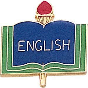 English Lapel Pins (10-Pack)