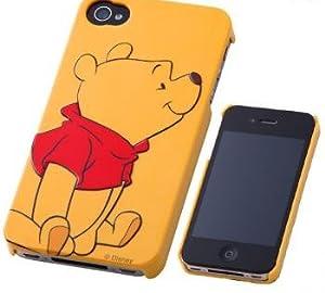 レイ・アウト iPhone 4S/4 用3Dレリーフディズニーキャラクターシェルジャケット/プーさんRT-DP4A/PO