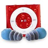 Apple iPod Shuffle Waterfi étanche avec écouteurs étanches à câble court - Meilleur lecteur MP3 pour la natation