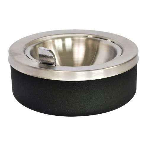 Ex-Cell Kaiser 63 BLX Tabletop Ashtray with Flip Top, 8