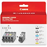 Canon PGI-9 and PGI-7 5 Color Ink Value Pack 1034B010