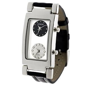 Aktion Men's Two Dial Strap Watch