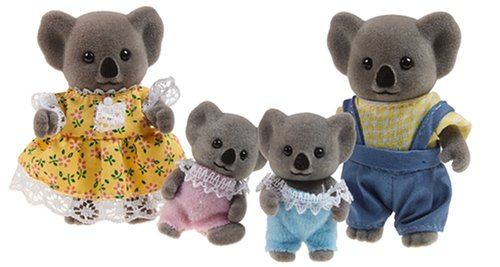 Calico Critters Billabong Koala Bear Family