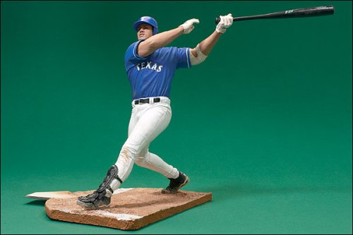 McFarlane Toys MLB Sports Picks Series 3 Action Figure Juan Gonzalez (Texas Rangers) Blue Jersey at Amazon.com