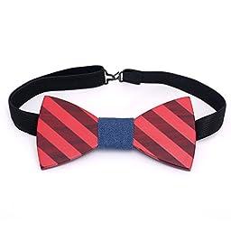 Men\'s Wooden Bow Tie