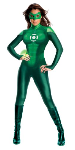 Secret Wishes Womens Green Lantern Uniform, Green, Medium