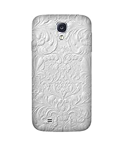 White Paint Samsung Galaxy S4 Case