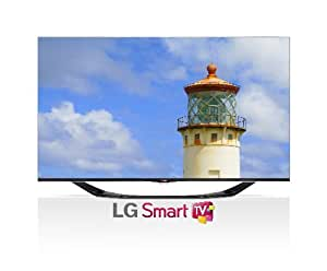 LG Electronics 55LA6900 55-Inch Cinema Screen Cinema 3D 1080p 120Hz LED-LCD HDTV with Smart TV and Four Pairs of 3D Glasses (2013 Model)