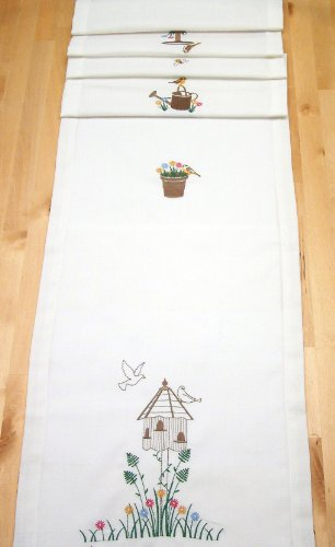Sale alerts for Peggy Wilkins Peggy Wilkins Country Garden Table Runner - Covvet