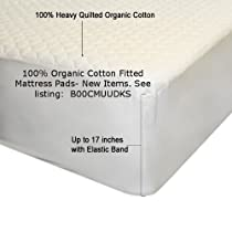 Hot Sale Organic Cotton Mattress Pad With Organic Filling