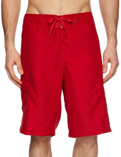 Billabong Rum Point BS Men's Swim Shorts Lifeguard Red W32 IN