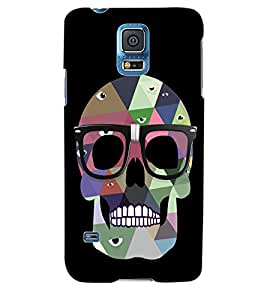 ColourCraft Skeleton Back Case Cover for SAMSUNG GALAXY S5