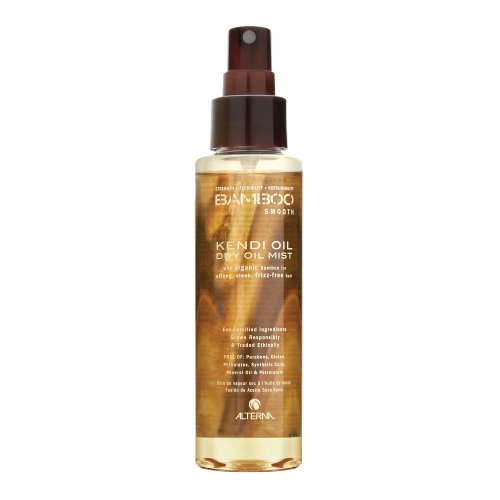 Alterna - Bamboo Smooth Kendi Oil Dry Oil Mist For Frizz-Free Hair - 4.2 oz. CLEARANCE PRICED (Alterna Split End compare prices)