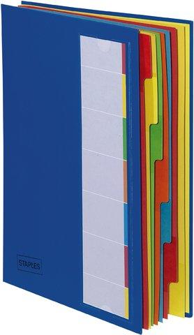 Staples 5533488 Deskorganizer 7-teilig blau 238x330x15mm