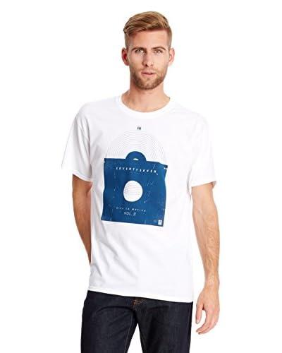 Seventy Seven Camiseta Manga Corta Viva Vol Ii Blanco