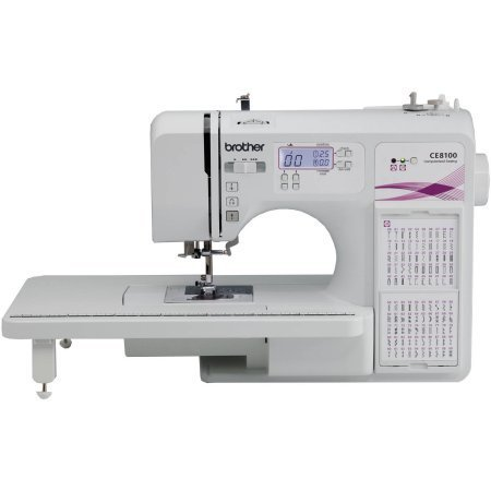 Brother CE8100 120-Stitch Computerized Home Decor Sewing and Quilting Machine (Brother Serger Gathering Foot compare prices)