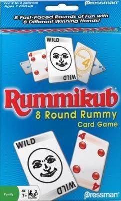 Rummikub 8 Round Rummy Card Game