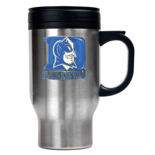 NCAA Duke Blue Devils 16oz Stainless Steel Travel Mug at Amazon.com