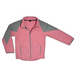 Polar Fleece Jacket, Pink 2T