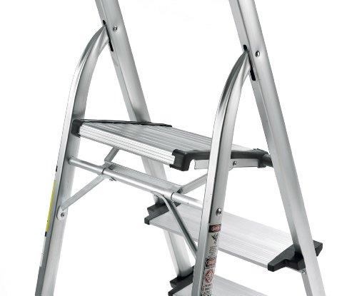 Polder Ultra Light Aluminum 5 Step Ladder Hardware Tools