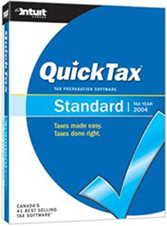 QuickTax Standard 2004 [Old Version]