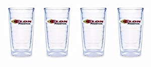 Tervis Tumbler Elon University 16-Ounce Double Wall Insulated Tumbler, Set of 4