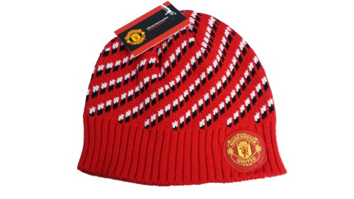 Manchester United Official SOCCER One Size Knit Beanie Hat by Rhinox (Manchester United Classic compare prices)