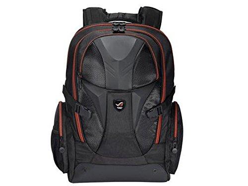 Asus Rog Nomad Notebook-Rucksack (bis 43,2 cm (17 Zoll), Nylon, Handyfach, Schlüsselring, wasserfest) schwarz