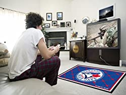 Toronto Blue Jays 4'x6' Rug 4X6 Floor Mat (Rug)