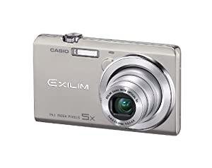 Casio Exilim EX-ZS10 Silver 14 MP Stylish and Slim Digital Camera with 5x Wide-Angle Zoom and 720p HD Video Capture