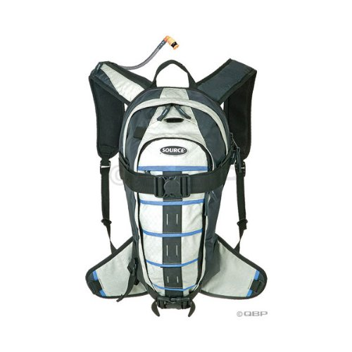 Source Equinox Winter Hydration Pack: 3 Liter; Black/Blue