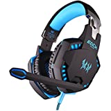Goldenzc Each G2100 Professional 3.5mm LED Light PC Gaming Bass Stereo Noise Cancelling Vibration Vibrate Headset...