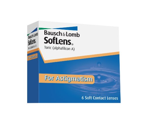 SofLens Toric for Astigmatism Contact Lenses (6 lenses/box – 1 box)