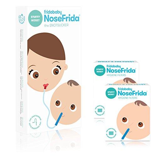 Nosefrida Nasal Aspirator with addtional 40 Hygiene Filters