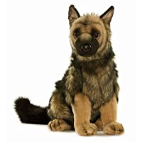 Hansa German Shepherd Puppy Stuffed Plush Animal from Hansa Toys