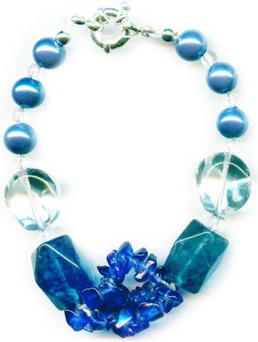 Blue Agates Bracelet