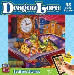 MasterPieces Puzzle Company Dragon Lore Bedtime Stories Value Jigsaw Puzzle (48-Piece), Art by Randal Spangler
