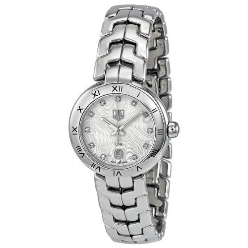 Tag Heuer Link Diamond Mother of Pearl Steel Ladies Watch WAT1411.BA0954