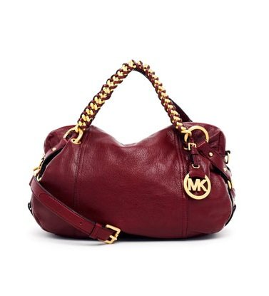 Michael Michael Kors Tristan Medium Satchel Bordeaux