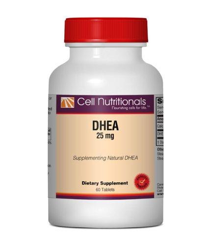 DHEA 25mg, 60 comprimés
